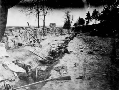 Confederate Dead at Chancellorsville   Battle of Chancellorsville  Attrition was felt at the Battle of Chancellorsville on both sides.