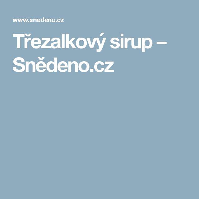 Třezalkový sirup – Snědeno.cz