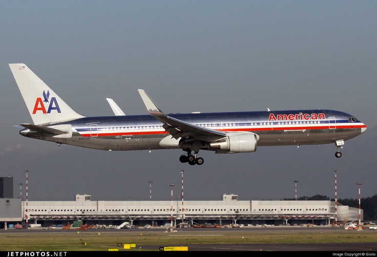 American Airlines Boeing 767-300(W)   My Logbook   Pinterest