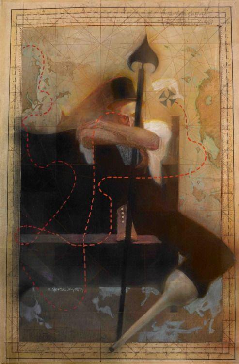 Captain Ahab by Bill Sienkiewicz