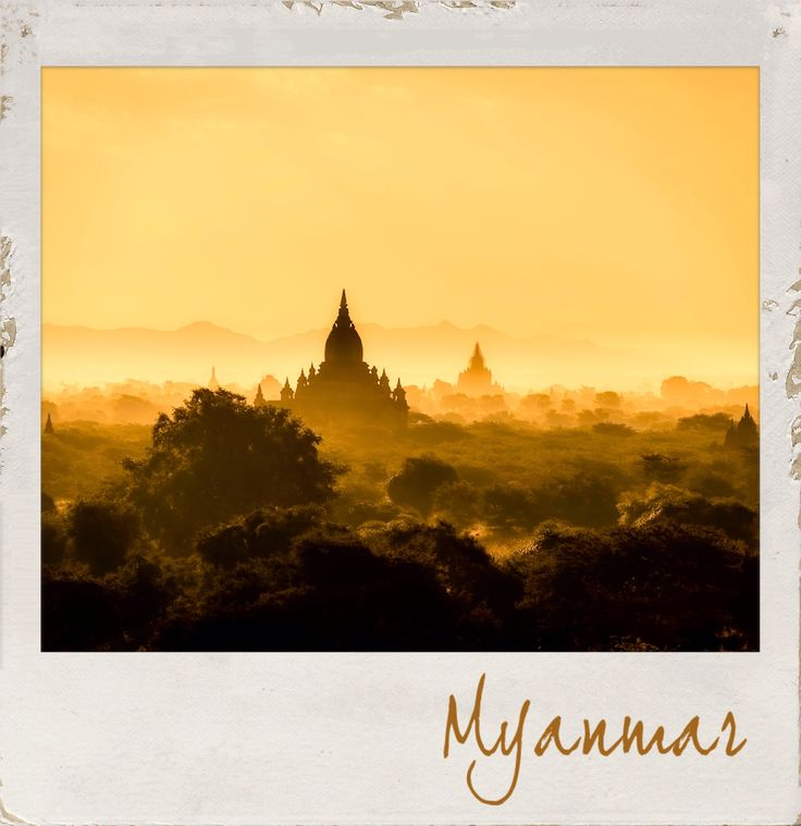 The Stunning #Landscapes of #Myanmar. #PolaroidFx #Polaroid #Frame #Filter #Asia #History #Visit #Holiday #Travel #Culture #Tourism