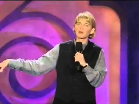 Ellen Degeneres - One Night Stand (1992) Sometimes, this is just a small gift. Enjoy Ellen's 1st One Night Stand in 1992. Another successful artist who never lost sight of her dream. She was just starting as an Entrepreneur, Selling herself. She has made it!! Take some time to laugh. Kitty Kelso