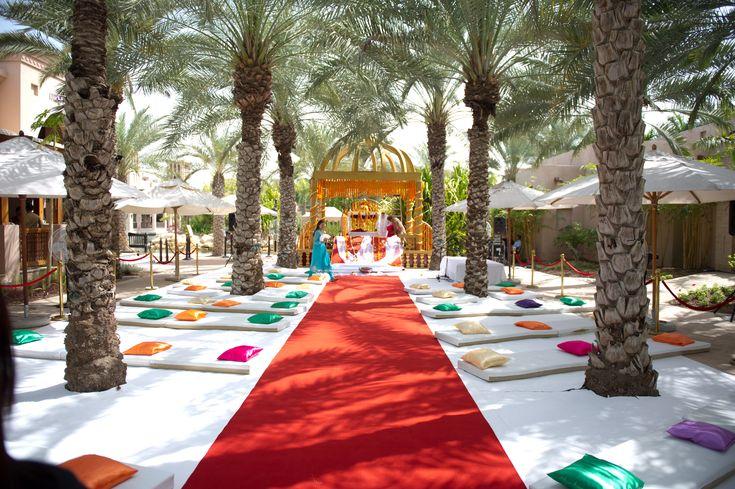 Indian Wedding Ceremony - Anand Karaj, Outdoor Indian Wedding Set-up, Sikh Wedding Decor, Colorful Mandap