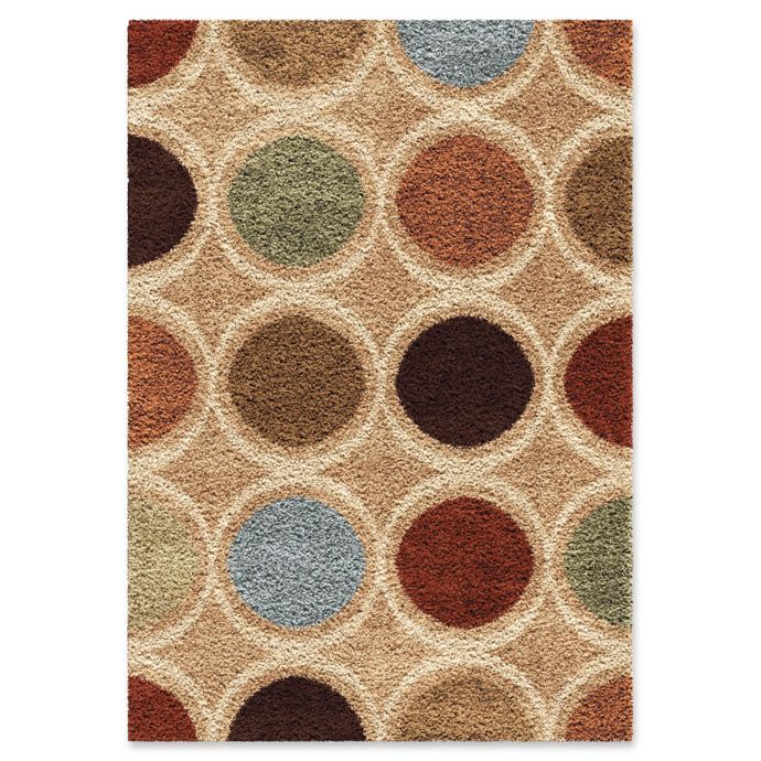 Orian Rugs Impressions Looped Shag Area Rug In Multi Bed Bath Beyond Shag Area Rug Orian Rugs Area Rugs