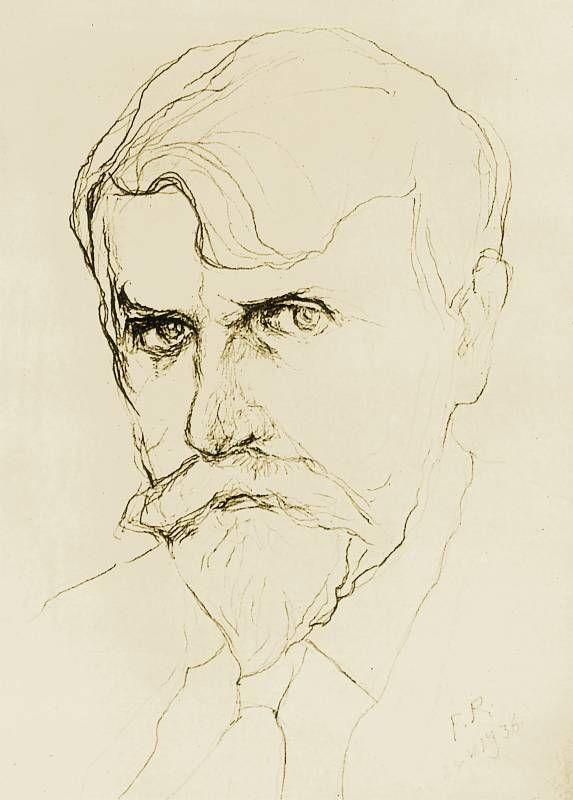 Autoportret 1936 | Ferdynand Ruszczyc