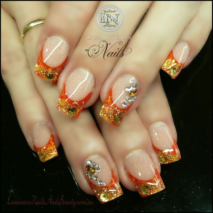 43 best fall nails images on Pinterest
