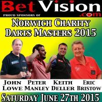 BetVision Norwich Charity Darts Masters 2015 tickets
