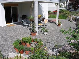 die besten 25 kiesterrasse ideen auf pinterest terrassenbeleuchtung sandfeuerstellen und diy. Black Bedroom Furniture Sets. Home Design Ideas