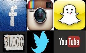 Brukertallene i sosiale medier Publisert 2. juni 2015