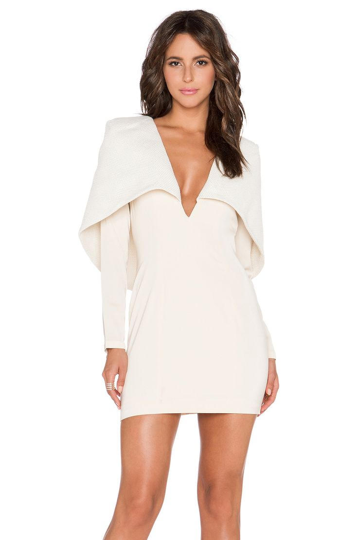 ASILIO Almost Famous Dress in Nude | REVOLVE