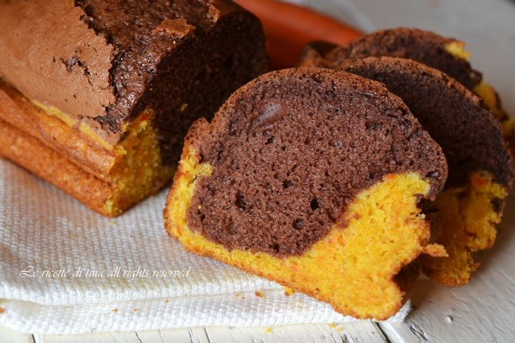 plumcake per bambini,plumcake di carote,plumcake di carote e cacao,plumcake con carote,le ricette di tina