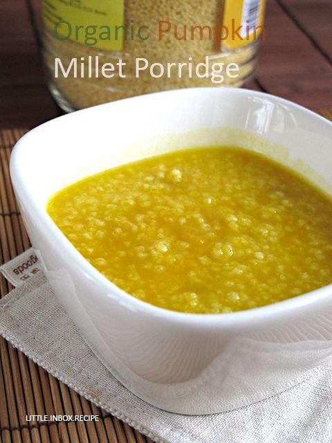 Baby Food- Organic Pumpkin Millet Porridge 金瓜小米粥