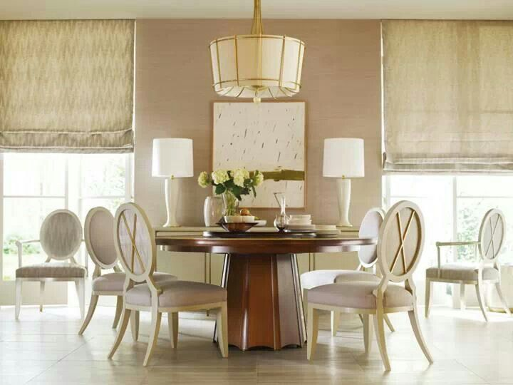 Best Barbara Barry Images On Pinterest Alexa Hampton Couch - Barbara barry dining table parsons