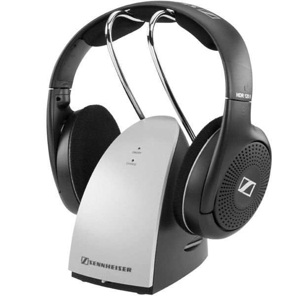 Sennheiser RS 120 II - Audio Headphones Stereo Wireless - Ideal for modern music & TV - Lightweight
