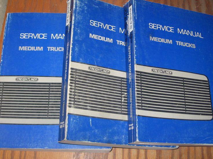 Freightliner Fl60 Fl70 Fl80 Mb60 Mb70 Mb80 Truck Shop Service Manual Set 3 Freightliner Trucks Truck Parts