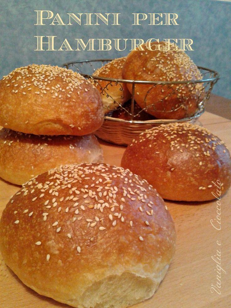 vaniglia e cioccolato: Panini per Hamburger