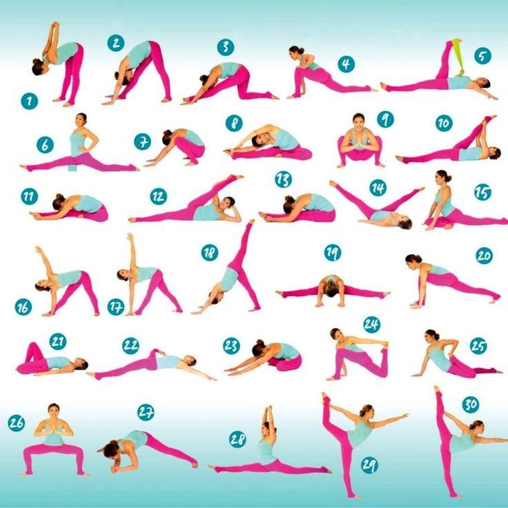 дизайнеры бесплатно хорошие упражнения на растяжку в картинках пикси