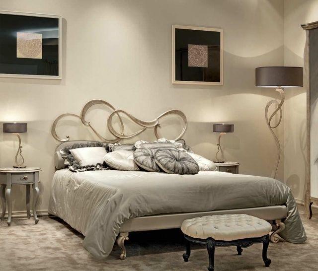 Les 25 meilleures id es de la cat gorie t te de lit en fer forg sur pinteres - Fer forge chambre coucher ...
