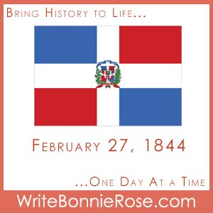 FREE Timeline Worksheet: February 27, 1844: On this day the Dominican Republic achieved its independence. Try this word search to find several of the cities in the Dominican Republic.t - WriteBonnieRose.com