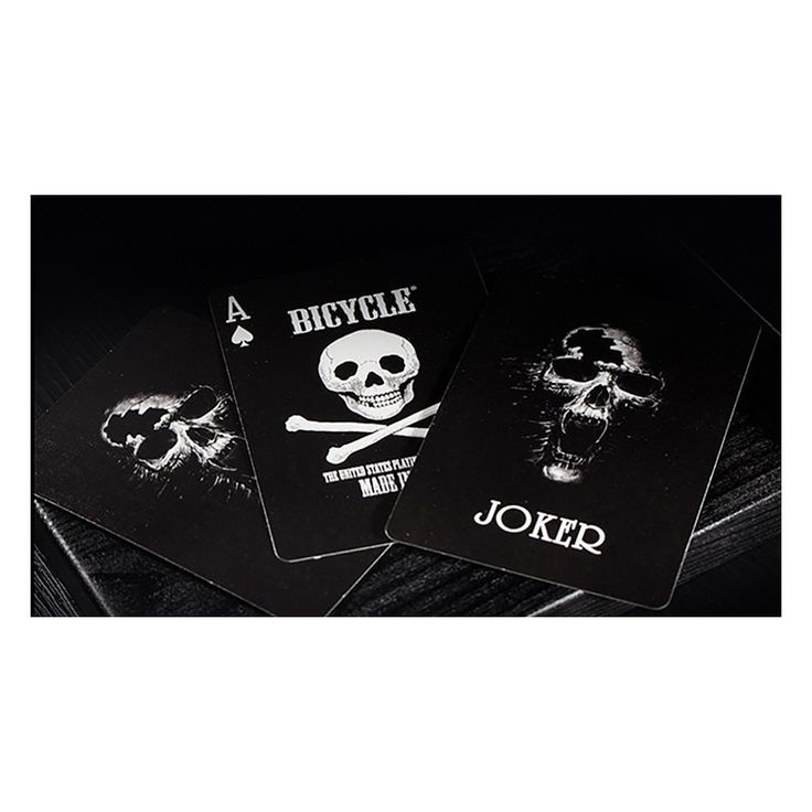 Bicycle Luxury Skull Playing Cards by BOCOPO Playing Card Company - ENJOY THE MAGIC, TIENDA DE MAGIA