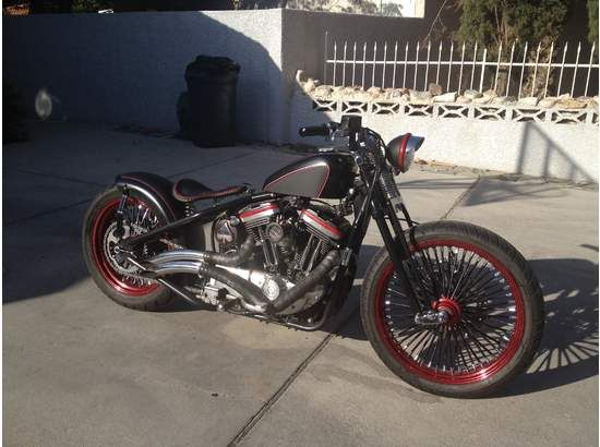 1992 Harley-Davidson bobber.