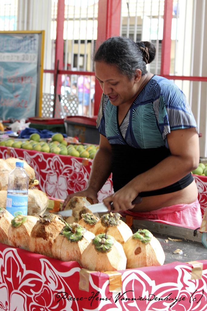 Le marché de Papeete
