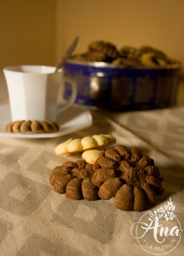 Recipes for the Marcato cookie press by Ana y la passion.