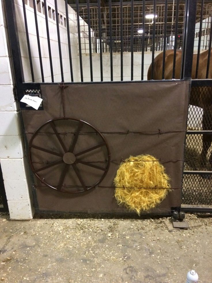 Stall 1 Wild West Theme With The Help Of Luann Bridges Horse DecorationsHorse StallsChristmas