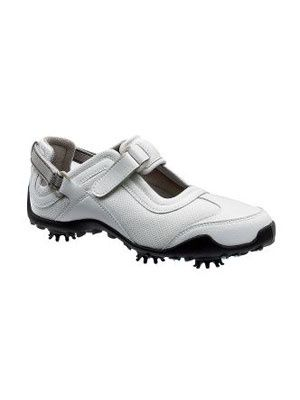 women's golf shoe sale- I own these and don't really care for them.  Can't use them in wet area because they stain. they really don't have any support.