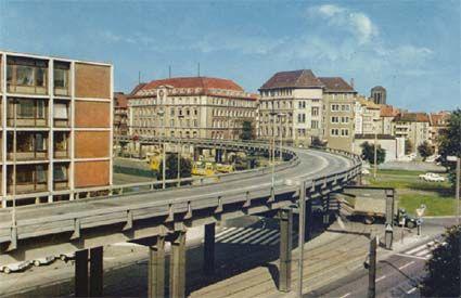 HANNOVER - Die Aegi-Hochstraße in den Siebzigern