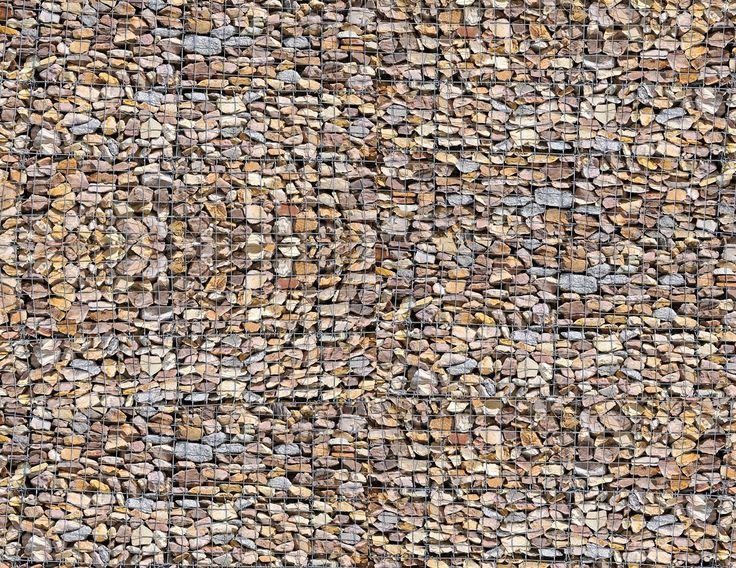 Gabion Wall Scenery Sheet