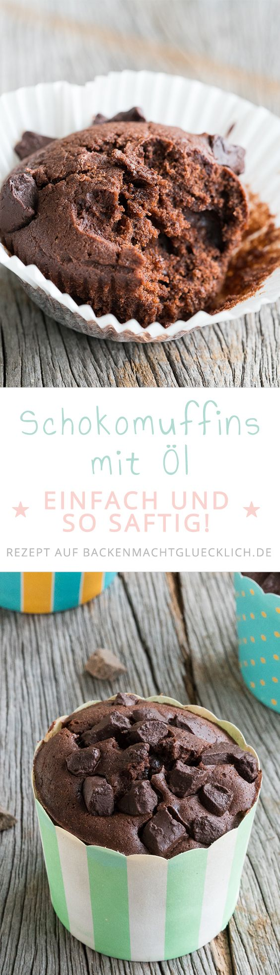 die besten 25 schokomuffins ideen auf pinterest schokoladenmuffins schoko muffins backen und. Black Bedroom Furniture Sets. Home Design Ideas