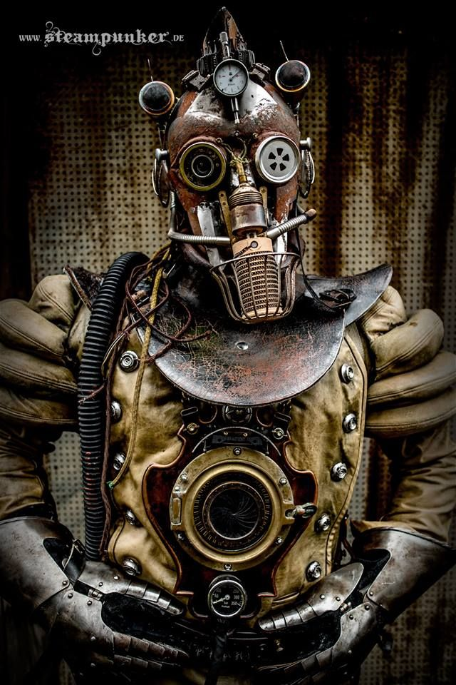 Steampunk Tendencies | Steampunk timetraveler by Steampunk Artwork - www.steampunker.de #Steampunk