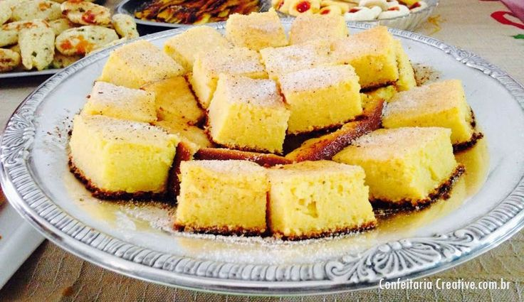 Bolo de Milho Cremoso Especial - Receita de Família | Creative