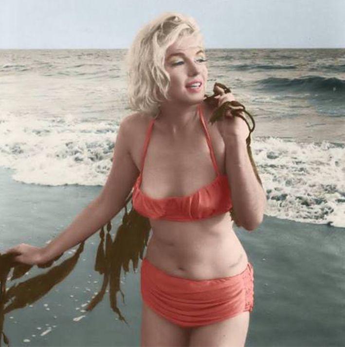 Bikini seit 1946 von Since * The Blog with Marylin Monroe.