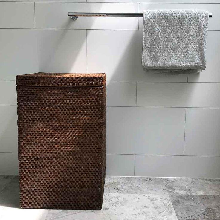 Die besten 25+ Tall laundry basket Ideen auf Pinterest Leinen - badezimmerschrank mit wäschekorb
