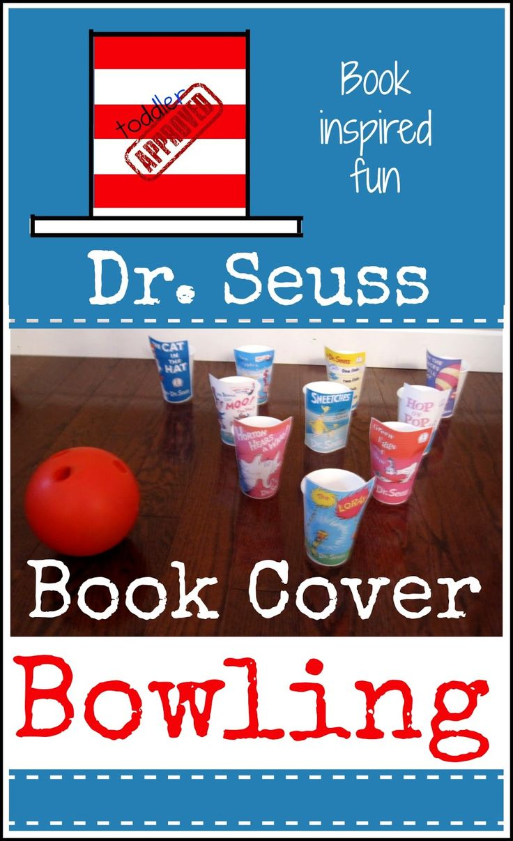Toddler Approved!: Dr. Seuss Book Cover bowling