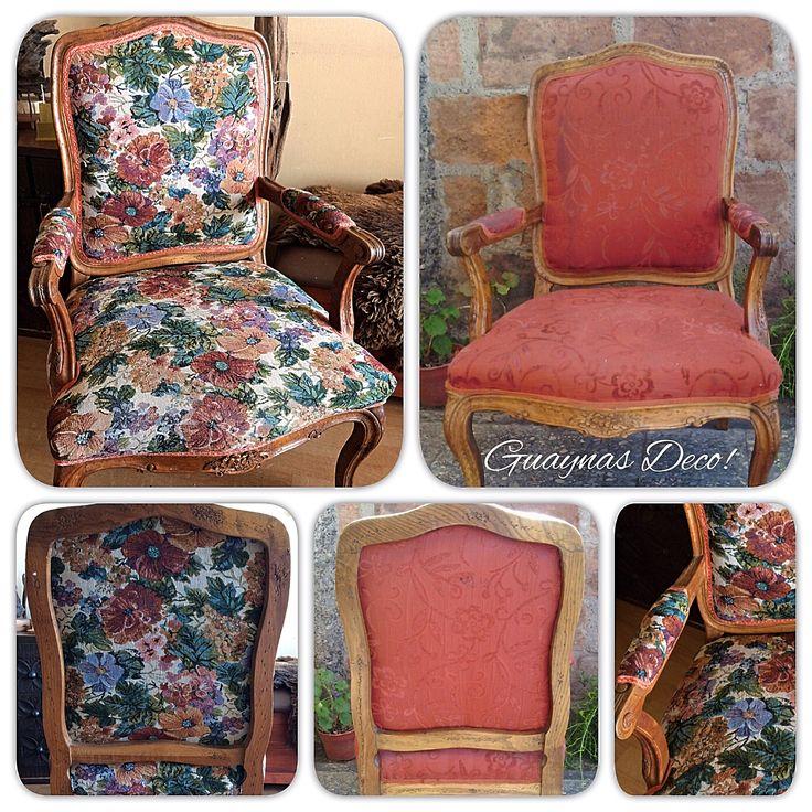 Restauración de tapizados antes y después