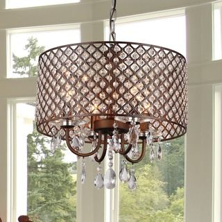 Antoinette Crystal Chandelier - 14980850 - Overstock Shopping - Great Deals on Warehouse of Tiffany Chandeliers & Pendants