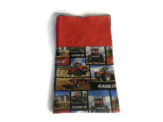 Case IH Standard Pillowcase  Case IH  by SewLittleCreations $12.50