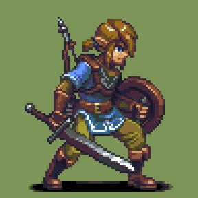 [JFS] Link - The Legend of Zelda: Breath of the Wild - Done by: T-Free
