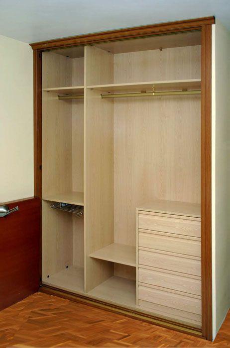 M s de 1000 ideas sobre armarios de ropa de cama en - Vestir armarios por dentro ...