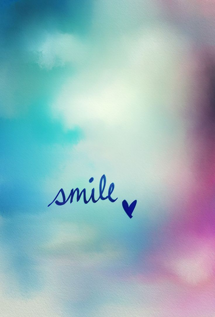 Such a simple thing! If you are smiling then good things will happen:)