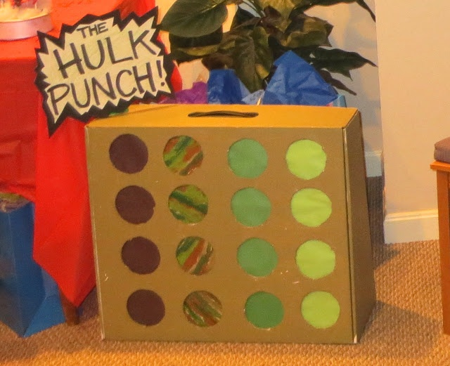 { The Crafty Homeschool Mama }: How to Make a Party Surprise Punch-Through Game
