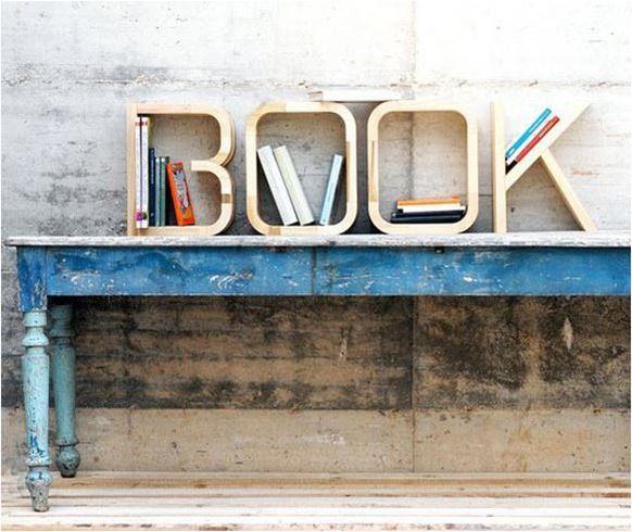 book shelf letters. For more book fun, follow us on Pinterest :  www.pinterest.com/booktasticfun AND on Facebook :  www.facebook.com/booktasticfun