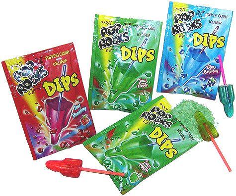 Pop Rocks Dips