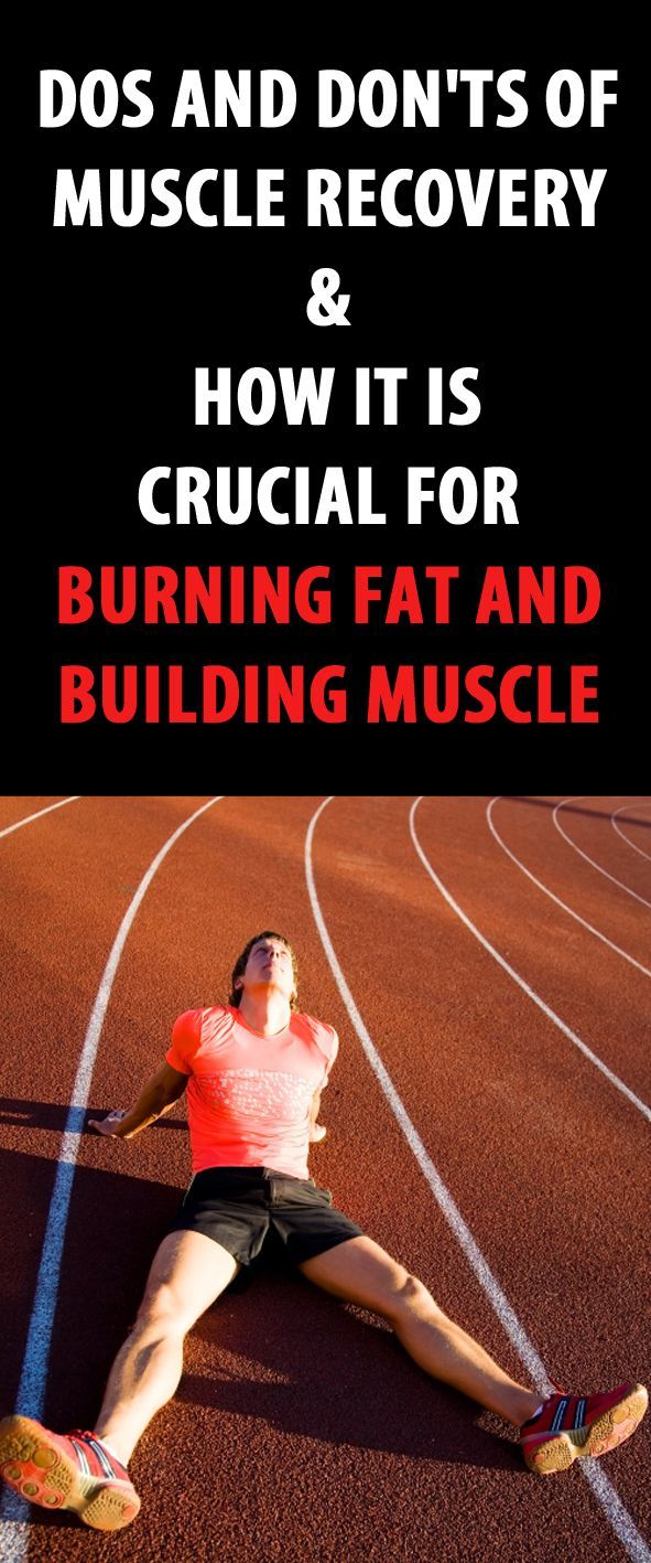 Dos and don'ts of muscle recovery & how it is crucial for burning fat and…