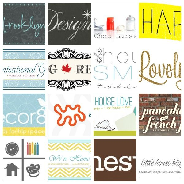 Decor Blogs 16 home decor blogs that are not to be missed!   bloggy goodness