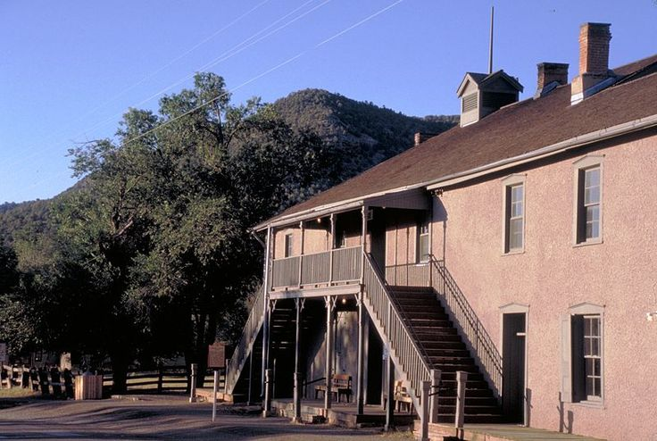 Lincoln, New Mexico jail and courthouse from which Billy the Kid escaped