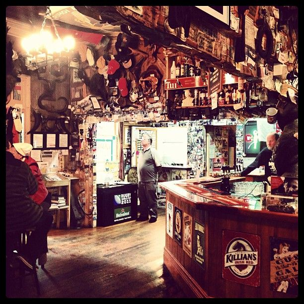 Part museum, part pub - great place for Ayke & WhatNot to have a drink at the Puhoi Pub